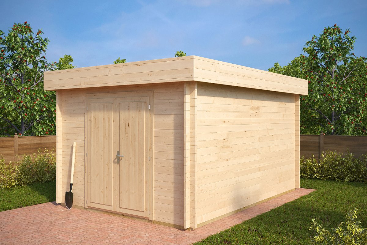 Garden Shed Jacob A 12m 178 3 2 X 4 4 M 40mm Hansa24 Group