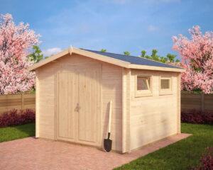 garden shed nora f 85m 32 x 32 m 40mm - Garden Sheds 8 X 3