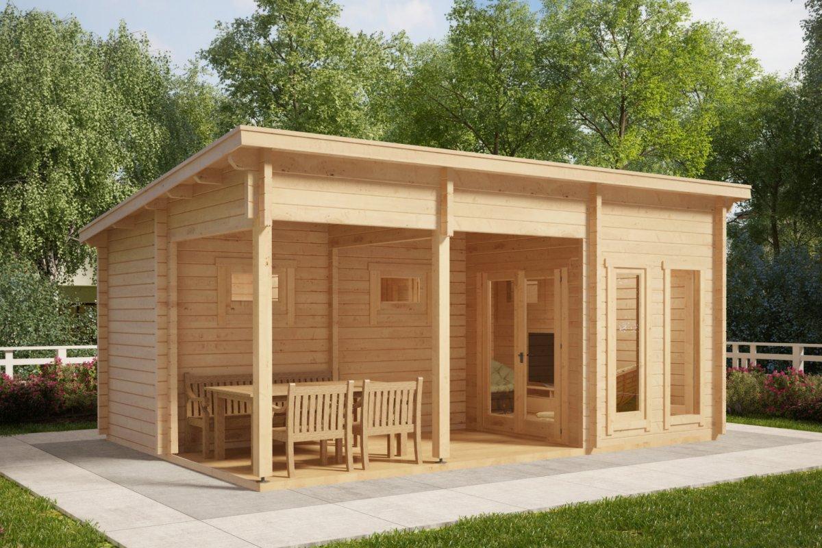 Sauna Cabin Oliver I 15m 178 70mm 6 X 4 M Hansa24 Group