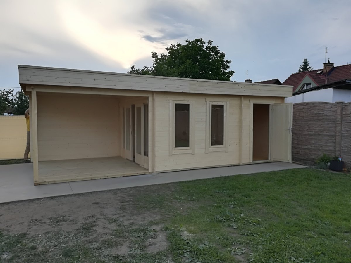 Summer House With Veranda And Shed Super Lucas E 15 M2 8